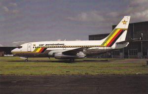 Boeing 737-2F9, Air Zimbabwe, Copenhagen, Denmark, 1985