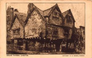 Edgar Tavern Chester Postcard