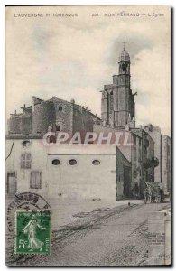 Montferrand - L & # 39Eglise - Old Postcard