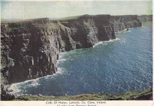 CLARE, Ireland, PU-1926; Cliffs Of Moher, Lahinch