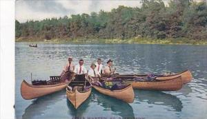Minnesota St Paul Girls Wanted Men In Canoes 1910