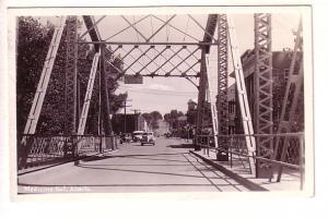 Real Photo, Bridge at Medicine Hat, Alberta,