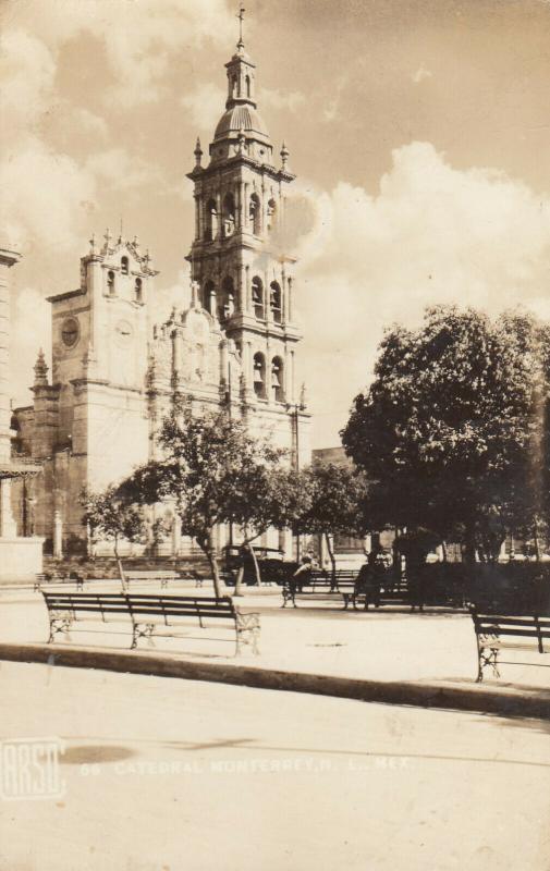 RP; MONTERREY, Nuevo Leon, Mexico, 1930-40s; Cathedral