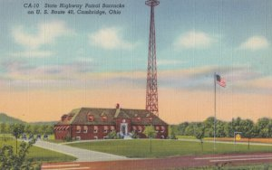 CAMBRIDGE , Ohio , 1930-40s ; State Highway Patrol Barracks