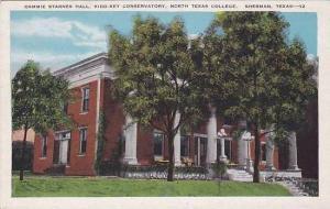 Texas Sherman Cammie Starnes Hall Kidd Key Conservatory North Texas College