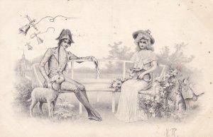 Romance Couple , 1903 ; TUK