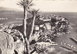 Monaco Le Rocher 1961