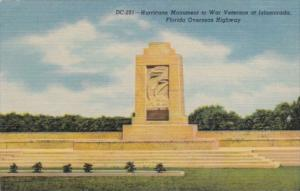 Florida Islamorada Hurricane Monument To War Veterans On The Overseas Highway...