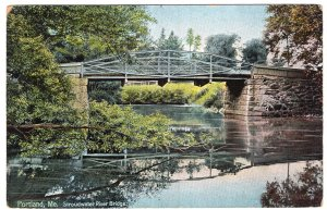 Portland, Me, Stroudwater River Bridge