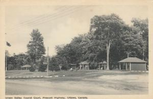 OTTAWA , Ontario , Canada, 1930s ; Green Valley Tourist Court, Prescott Highway