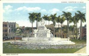 Cuba, Republica de Cuba Habana Fuente de la India, India Fountain