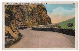The S Curve On The Storm King Highway, N.Y.