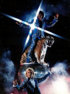 Nevada Las Vegas Frontier Hotel Siegfried and Roy
