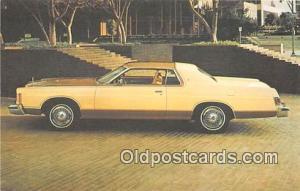 Ebensburg, Penn, USA Postcard Post Card 1977 Marquis Brougham 2 Door Hardtop
