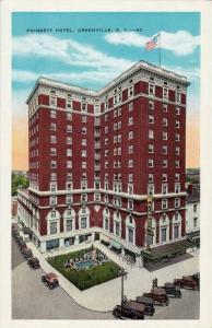 Poinsett Hotel, Greenville, South Carolina, 1910-1920s
