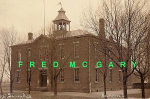 1910 Baltimore OH Azo RPPC: East School Building