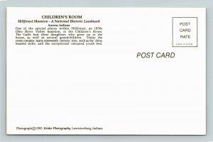 Aurora IN- Indiana, Hillforest Mansion, Children's Room, Chrome Postcard