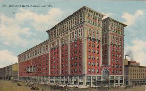 Missouri Kansas City Baltimore Hotel 1911