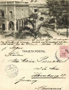 colombia, BARRANQUILLA, Callejon del Tranvia (1905) Stamp