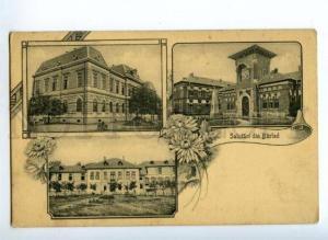 172210 ROMANIA Salutari din BARLAD BERLAD Vintage postcard