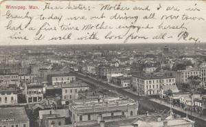 WINNIPEG , Manitoba , 1906 ; From City Hall ; Version-2