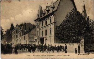 CPA Lons le Saunier- Avenue Gambetta FRANCE- (1044296)