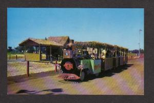 OK Hawaiian Village Winsor Hill Mall Jungle Queen Train Oklahoma City Postcard