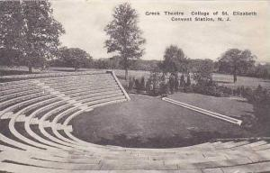 New Jersey Convent Station Greek Theatre College Of St Elizabeth Albertype