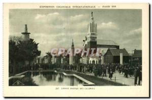 Old Postcard Exposition Coloniale Internationale Paris 1931 Orande Avenue Des...