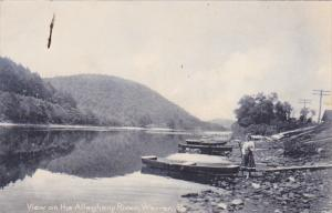 WARREN, Pennsylvania, 1900-1910s; View On The Allegheny River