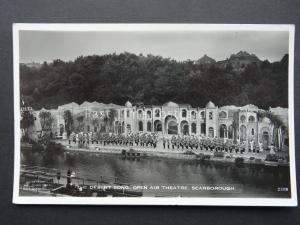 Yorkshire SCARBOROUGH OPEN AIR THEATRE The Desert Song - Old RP Postcard