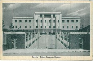 31627   CARTOLINA d'Epoca ANCONA provincia : LORETO - ISTITUTO BARACCA - SCUOLA