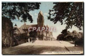 Postcard The Old Koblenz Prefecture