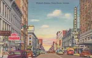 Indiana Terre Haute Wabash Avenue 1941