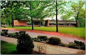 Vintage ORCHARD LAKE SCHOOLS, Michigan Postcard Alumni Memorial Library c1950s