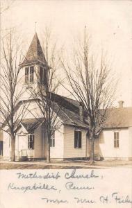 Knoxville Pennsylvania Methodist Church Real Photo Antique Postcard J64425