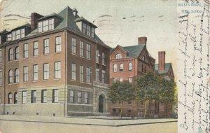 WILKES-BARRE , Pennsylvania, PU-1908 ; High School, TUCK # 5479