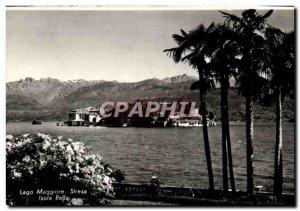 Postcard Modern Italy Lago Maggiore Stresa Isola Bella