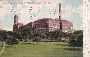 Bureau Of Engraving & Printing Washington D C 1905