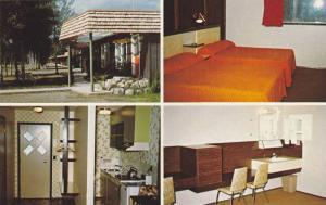 Log-Tel Motel , McBride , B.C. , Canada , 40-60s