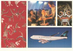 Garuda Indonesia Airline's Jet Airplane , 80-90s