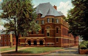 Massachusetts Bridgewater State Normal School 1908 Rotograph
