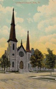 POLO , Illinois , 1920 ; Lutheran Church