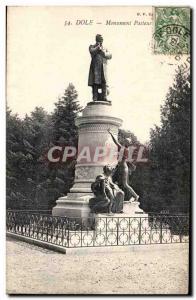 Dole - Shepherd Statue - Old Postcard