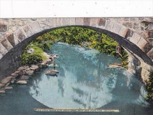 Arkansas Old Stone Bridge Over Cedar Creek Petit Jean State Park