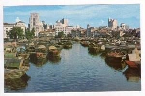 Panoramic View Of The Singapore River,Singapore,1940-60