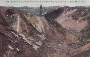 COLORADO, PU-1916; Panorama of Clear Creek Valley, from Sunrise Peak, Showing...