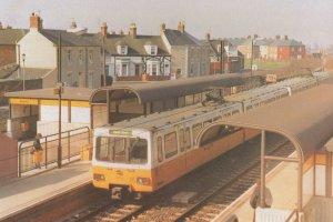 Jarrow Metro Railway Station Tyne & Wear Limited Postcard