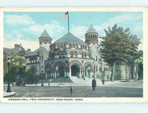 Unused W-Border OSBOURN HALL AT YALE UNIVERSITY New Haven Connecticut CT L7449