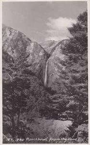 RP, The Punchbowl From The Road, New Zealand, 1920-1940s